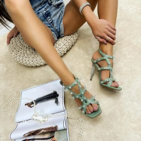 Women sandals FAYA - MINT