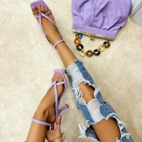 Women sandals TEFTA - VIOLET