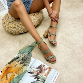 Women sandals REGHAN - MINT