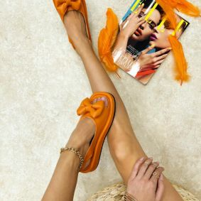 Women sandals EVA - ORANGE