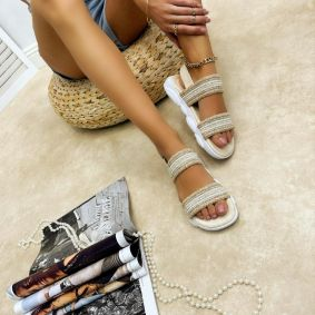 Women sandals ARIANA - BEIGE