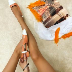 Ballerina flats MIA - ORANGE