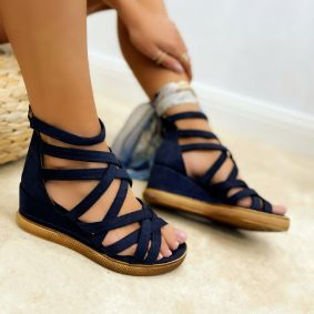 Women sandals KELLY - NAVY