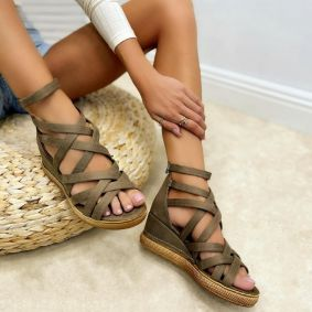 Women sandals KELLY - BEIGE