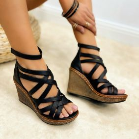 Women sandals KENDRA - BLACK