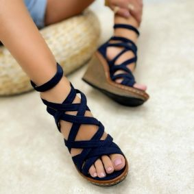 Women sandals KENDRA - NAVY