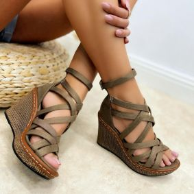 Women sandals KENDRA - BEIGE