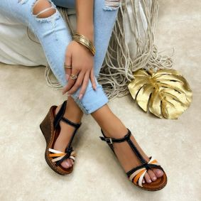 Women sandals KATHLEEN - BLACK