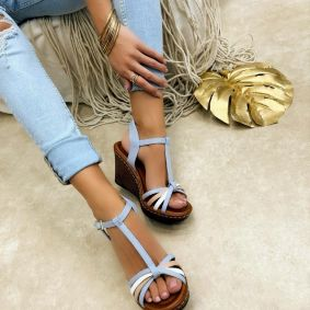 Women sandals KATHLEEN - BLUE