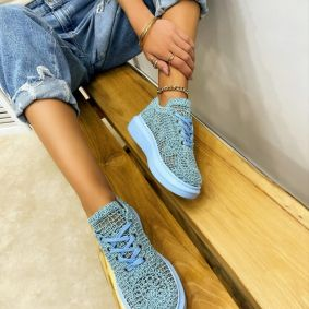 Women sneakers MADELEIN - BLUE