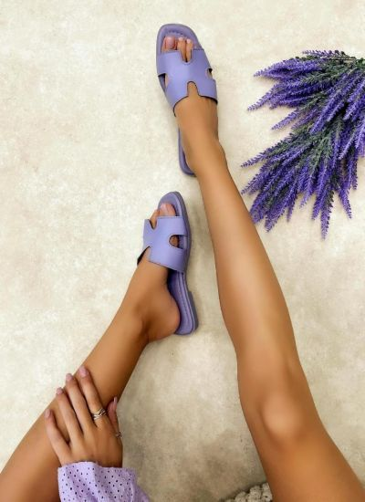 Women Slippers PAIGE - VIOLET