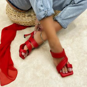 Women Slippers DANII - RED
