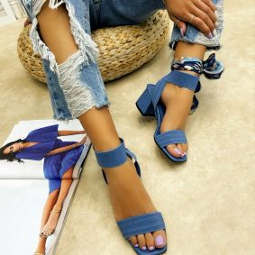 Women sandals ZENITH - BLUE