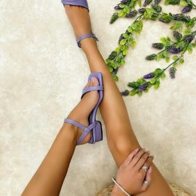Women sandals KUMKUM - VIOLET