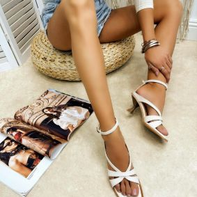 Women sandals BOWIE - BEIGE