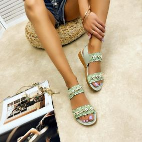 Women sandals LUJAIN - MINT