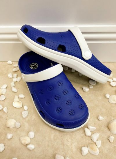 Rubber slippers AMBIKA - BLUE