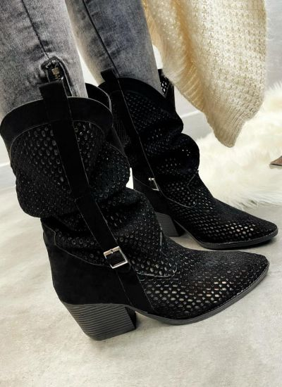 Women ankle boots BETH - BLACK