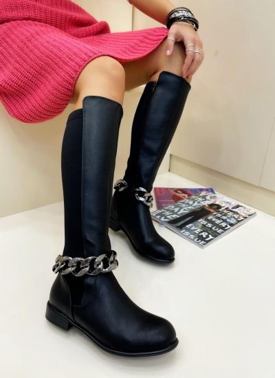 Women boots ORLY - BLACK