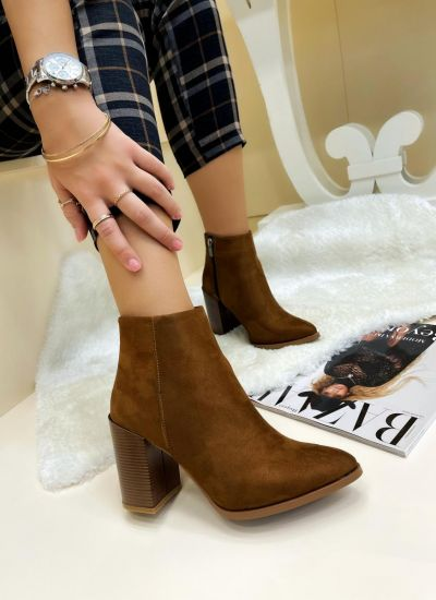 Women ankle boots SHAUNI - CAMEL