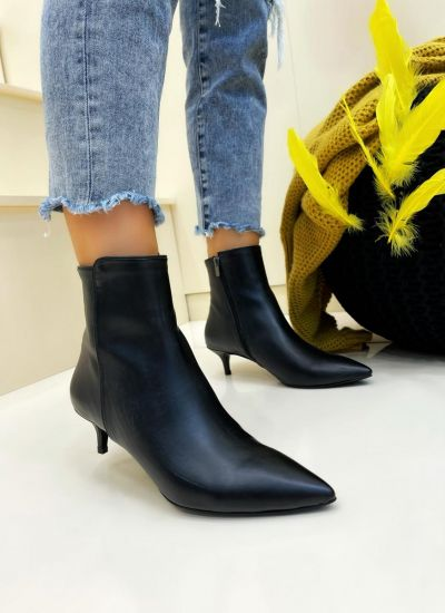 Women ankle boots AYONA - BLACK