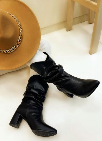Women ankle boots SULA - BLACK