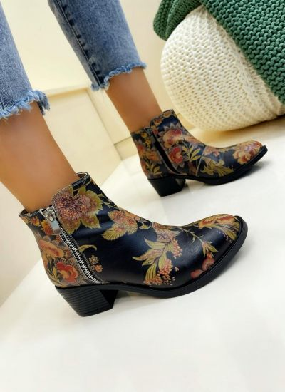 Women ankle boots SIANNA - BLACK