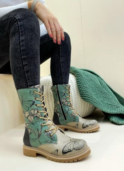 Women ankle boots HARLO - MINT