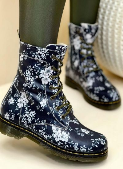 Women ankle boots EMME - NAVY