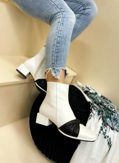 Women ankle boots CHERYL - WHITE