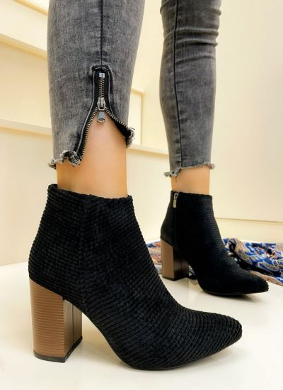 Women ankle boots ATMIKA - BLACK