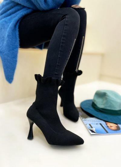 Women ankle boots CHIOMA - BLACK