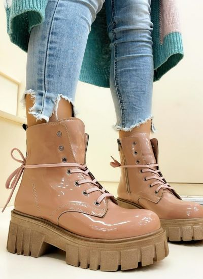 Women ankle boots HADDEL - ROSE
