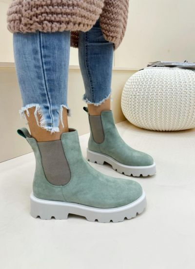 Women ankle boots ARIAM - MINT
