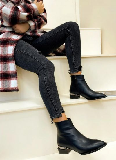 Women ankle boots CALLIE - BLACK
