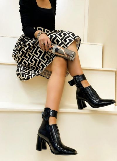 Women ankle boots NYAH - BLACK