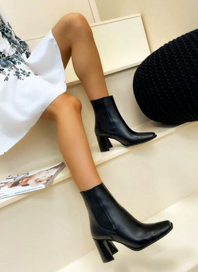 Women ankle boots HALLEY - BLACK