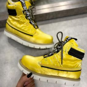 TEXAPORE SEMI - DEEP SNEAKERS  - YELLOW