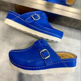 ANATOMIC CLOGS WITH SAW - BLUE