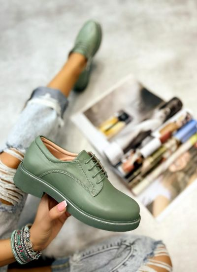 OXFORD SHOES - GREEN