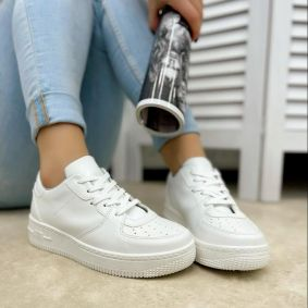 SHALLOW SNEAKERS - WHITE