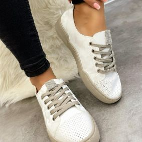 SEDEF SNEAKERS - WHITE