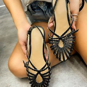 Women sandals DALAJA  - BLACK
